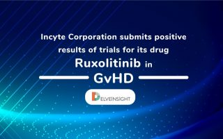 Incyte Corporation submits positive results of trials for its drug Ruxolitinib in GvHD