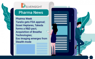 Pharma Week| Turalio gets FDA approval; Sosei Heptares, Takeda forms an R&D pact; Acquisition of Breathe Technologies; Exo Imaging emerges from Stealth mode
