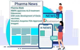 Pharma Week | NMPA approves ALS treatment Edavarone; GSK ends development of Ebola vaccines; Vesselon Acquires FDA-Approved Imagent