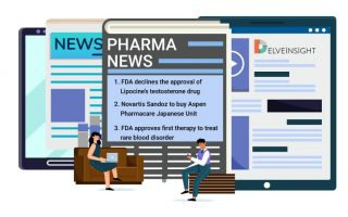 FDA declines the approval of Lipocine's testosterone drug; Novartis Sandoz to buy Aspen Pharmacare Japanese Unit; FDA approves first therapy to treat a rare blood disorder