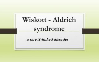 Wiskott – Aldrich syndrome – a rare X-linked disorder