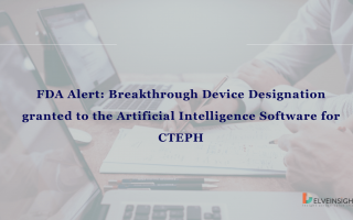 FDA Alert: Breakthrough Device Designation granted to the Artificial Intelligence Software for CTEPH