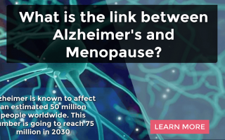 What is the link between Alzheimer's and Menopause?
