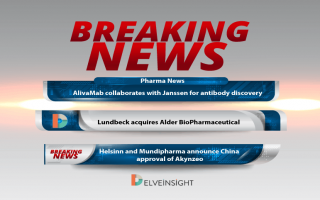 AlivaMab collaborates with Janssen for antibody discovery; Lundbeck acquires Alder BioPharmaceutical; Helsinn and Mundipharma announce China approval of Akynzeo