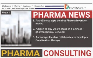 AstraZeneca tops the first Pharma Invention Index; Amgen to buy 20.5% stake in a Chinese pharmaceutical, BeiGene; Ascentage, Henlius collaborates to develop a Combination therapy