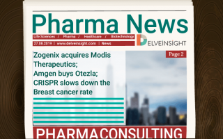 Zogenix acquires Modis Therapeutics; Amgen buys Otezla; CRISPR slows down the Breast cancer rate