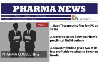 Rapt Therapeutics files for IPO at $75M; Novartis stakes $80M on Pliant's preclinical NASH outlook; GSK gives two of its less profitable vaccines to Bavarian Nordic