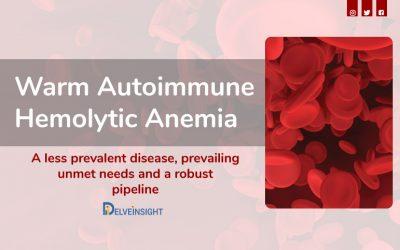 Warm Autoimmune Hemolytic Anemia: A less prevalent disease with p...
