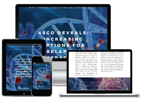ASCO Reveals: Increasing Options for Relapse/ Refractory Patients in Haematological Malignancies