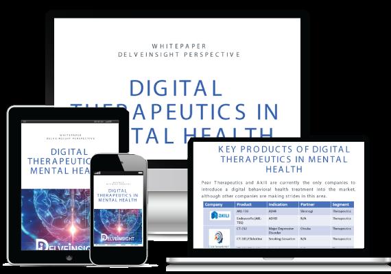 Digital Therapeutics in Mental Health